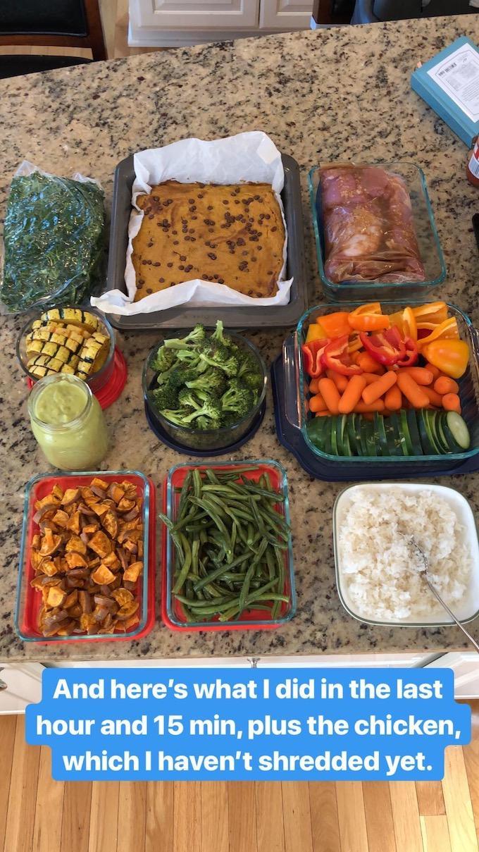 food prep recap