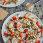Apple Graham Cracker Snack Nachos