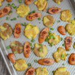 Sheet Pan Sausage and Smashed Potatoes