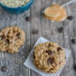 Peanut Butter Hemp Cookies with just six ingredients