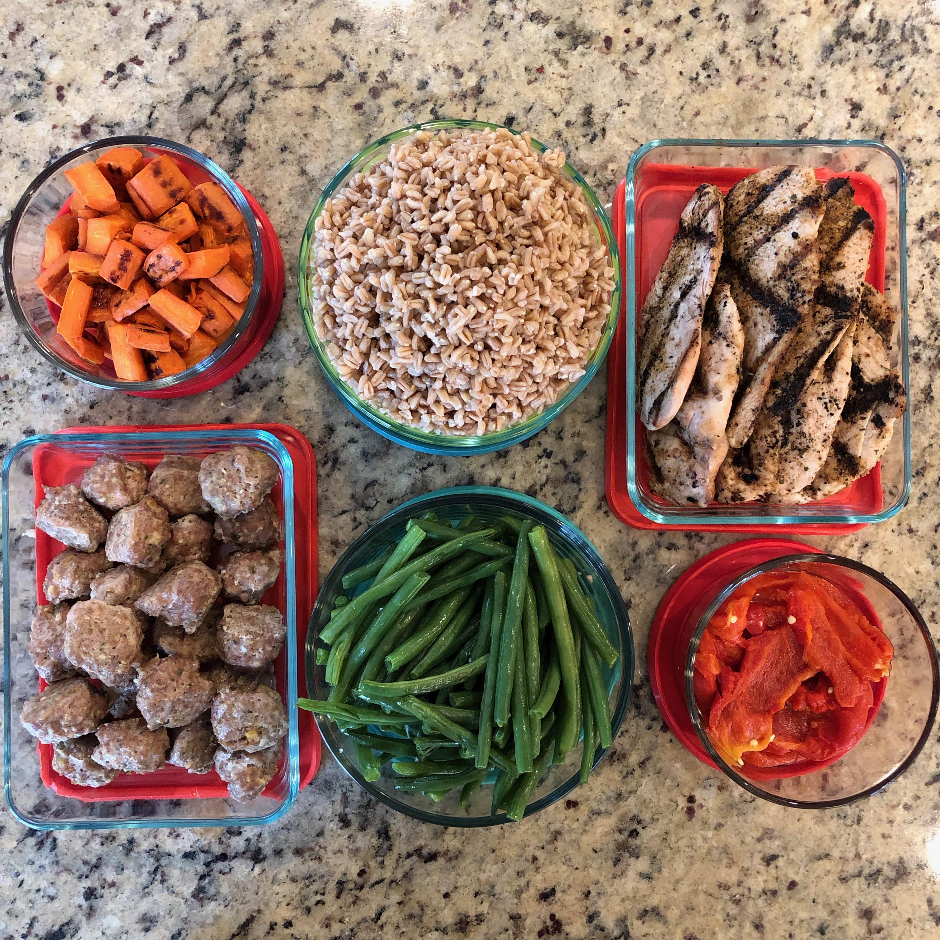 component food prep