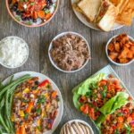 Four Easy Pulled Pork Recipes made quickly using component food prep