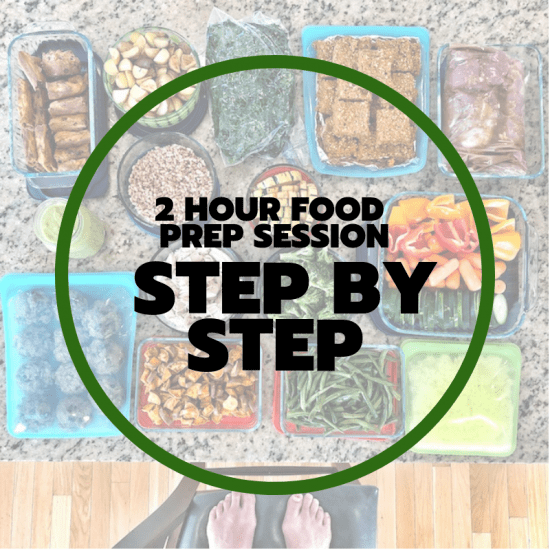 2 hour food prep step by step