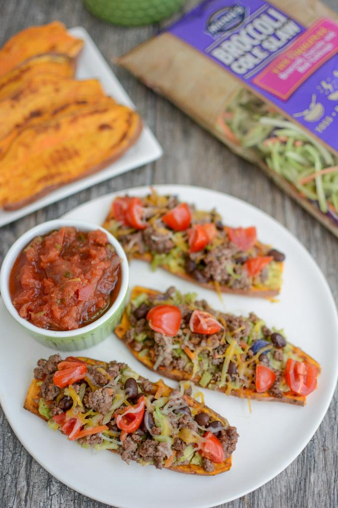 Taco Sweet Potato Toast