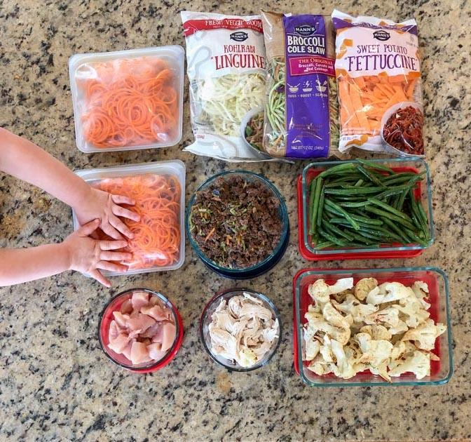 food prep for easy broccoli slaw recipes