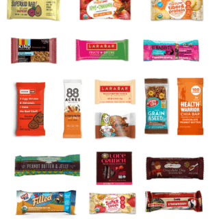 Healthy Store Bought Granola Bars For Kids