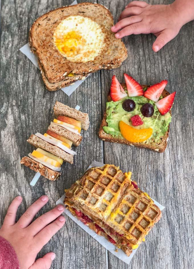 Creative Sandwich Ideas for Kids