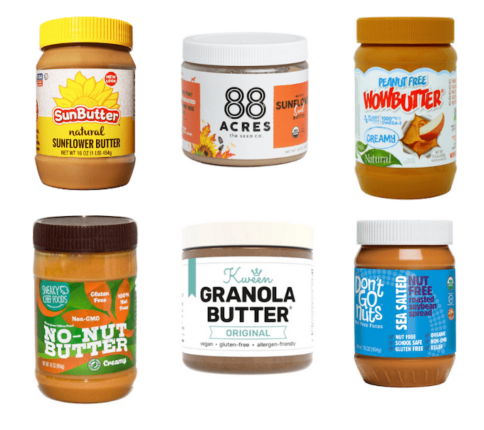 nut-free peanut butter alternatives