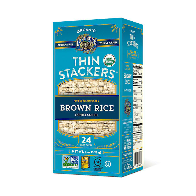 lundberg rice cakes thin stackers