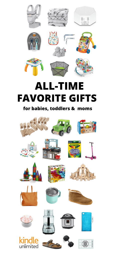 After three kids, here are my all-time favorite gifts for Babies, Toddlers and Moms! These are my most used items for every day life and would make great choices for gifts, baby registries and more.
