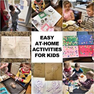 At-Home Activities For Kids