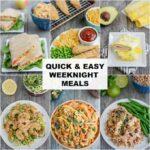 Easy Weeknight Meals