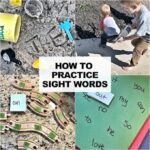 How To Practice Sight Words with kids