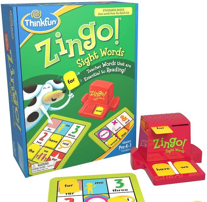 sight word zingo