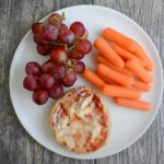 Frozen English Muffin Mini Pizzas with fruits and vegetables