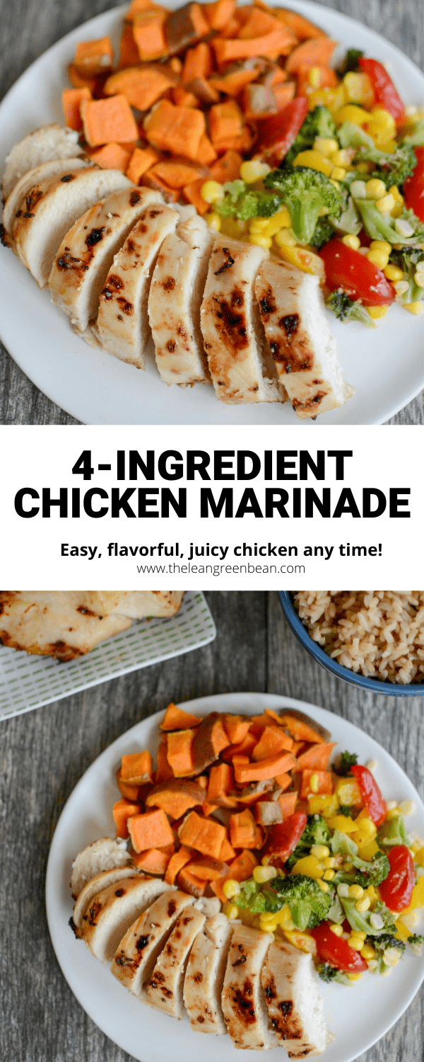For this easy chicken marinade, combine oil, red wine vinegar, honey and garlic for perfectly juicy chicken every time. Cook it any way you want - on the grill, in the air fryer or in the oven!